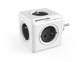 Napájací adaptér PowerCube Original 5 zásuviek, sivá