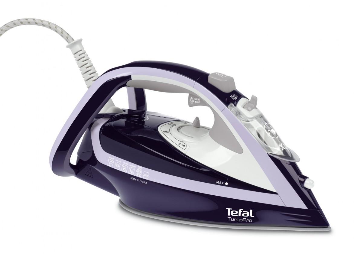 Naparovacia žehlička Žehlička Tefal Turbo Pre FV5615E0, 2600W POUŽITÉ, NEOPOTREBOVANÝ