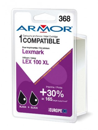 Náplne a tonery - kompatibilné Armor náplň, Lexmark bi-pack (LEX100XL B) K10187R1