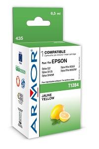 Náplne a tonery - kompatibilné ARMOR náplň, Yellow (T128440) K12591