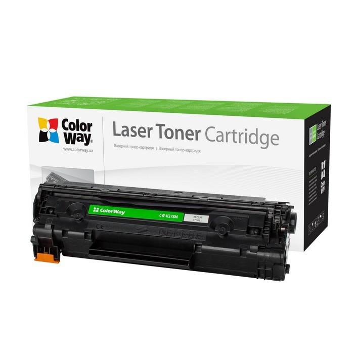 Náplne a tonery - kompatibilné ColorWay CW-H278M toner pre HP CE278A, čierny