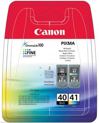 Náplne a tonery - originálné Canon BJ CARTRIDGE PG-40/CL-41 Multi Pack 0615B043