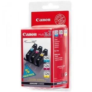 Náplne a tonery - originálné Canon CLI-526 C/M/Y - originálny (4541B006) červená/modrá/žltá