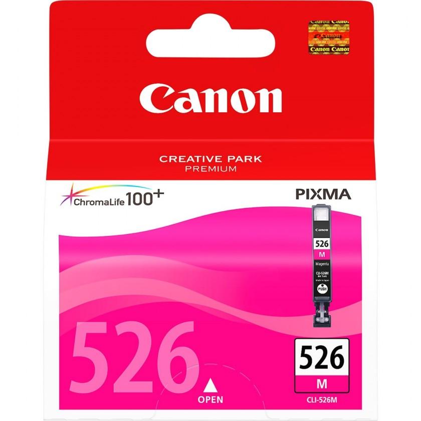 Náplne a tonery - originálné Canon CLI-526 M, purpurový (4542B001) - originálny