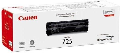 Náplne a tonery - originálné Canon LASER TONER black CRG-725 (CRG725) ROZBALENÉ