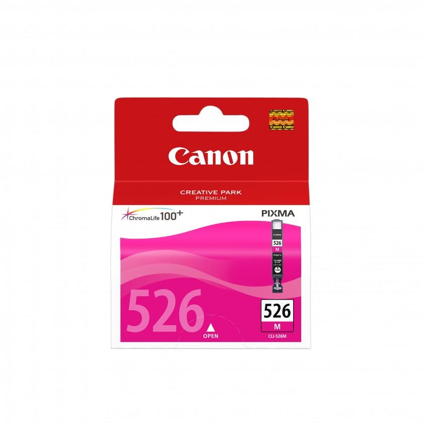 Náplne a tonery - originálné Cartridge Canon CLI-526 M, purpurová