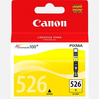 Náplne a tonery - originálné Cartridge Canon CLI-526 Y, žltá