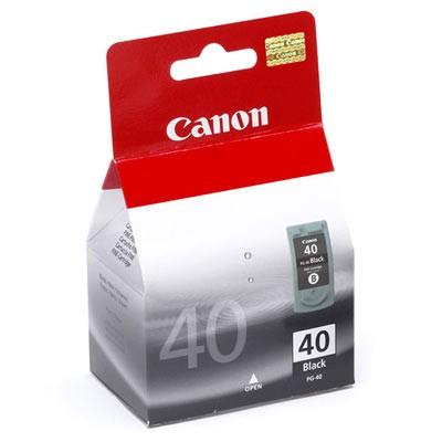Náplne a tonery - originálné Cartridge Canon PG-40 0615B001, čierna