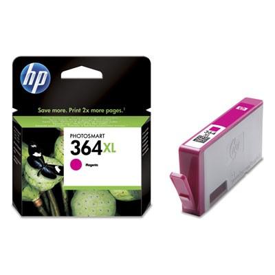 Náplne a tonery - originálné Cartridge HP CB324EE, 364XL, purpurová