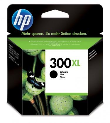 Náplne a tonery - originálné Cartridge HP CC641EE, 300XL, čierna