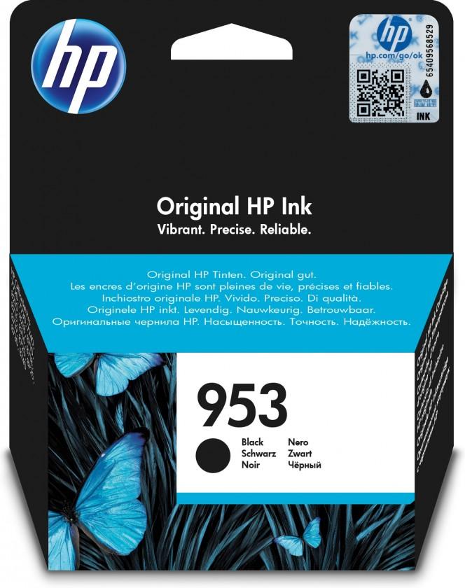 Náplne a tonery - originálné Cartridge HP L0S58AE, 953, čierna