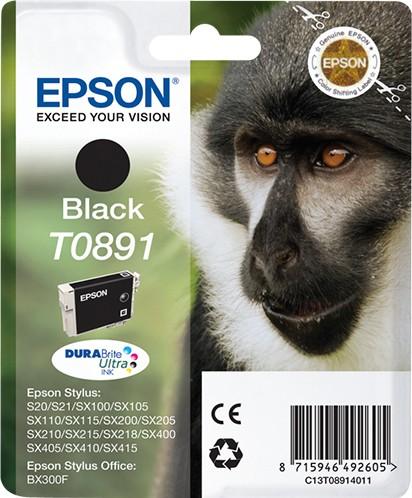 Náplne a tonery - originálné Epson T0891 - originálny
