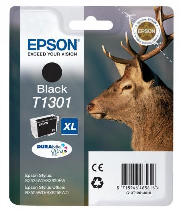Náplne a tonery - originálné Epson T1301 čierna (C13T13014010)