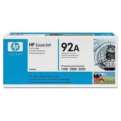 Náplne a tonery - originálné HP Ultraprecise toner C4092A, čierna