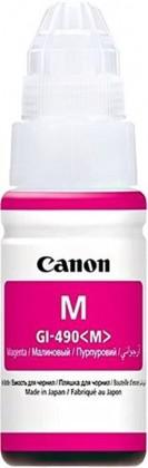 Náplne a tonery - originálné Inkoust Canon GI-490 M, purpurová