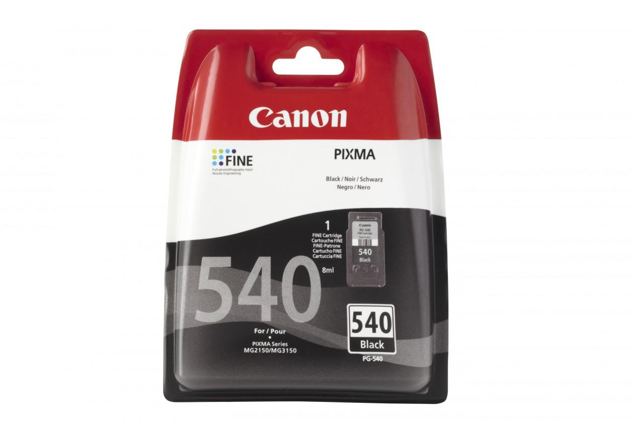 Náplne a tonery - originálné Originálne čierna cartridge Canon PG-540