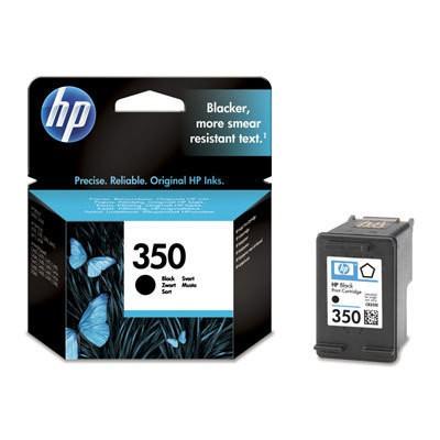 Náplne a tonery - originálné Originálne čierna cartridge HP 350
