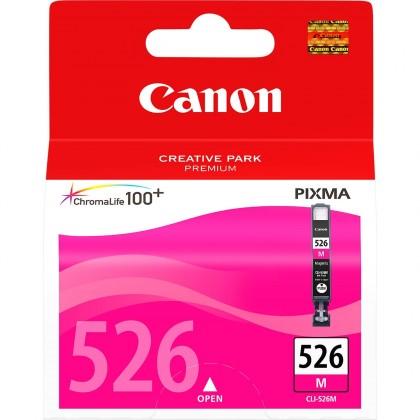 Náplne a tonery - originálné Originálne purpurová cartridge Canon CLI-526 M