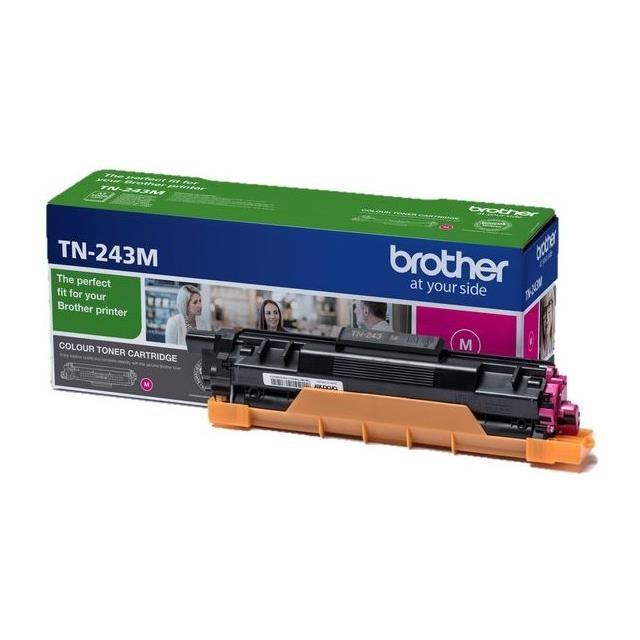 Náplne a tonery - originálné Originální magenta toner Brother TN243M