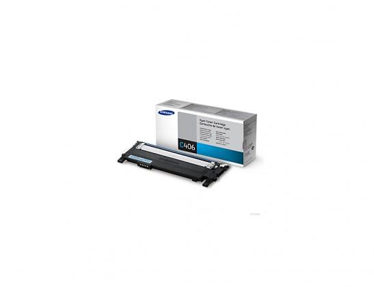 Náplne a tonery - originálné Samsung CLT-C406S - originálny