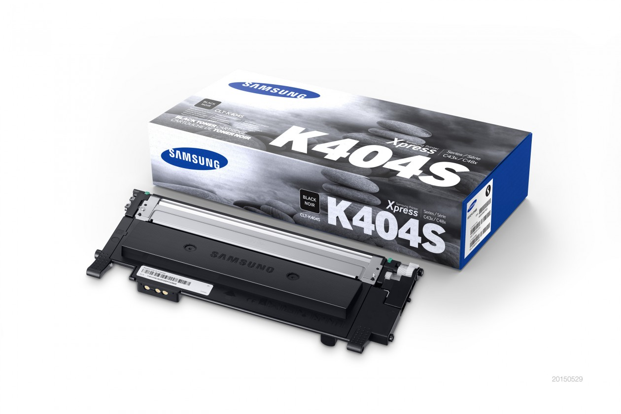 Náplne a tonery - originálne Toner Samsung CLT-K404S, čierna