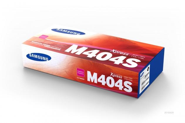 Náplne a tonery - originálné Toner Samsung CLT-M404S, purpurová