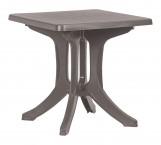 Napoli - Záhradný stôl (cappuccino)