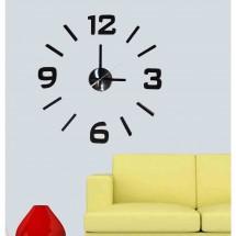 Nástenné hodiny - H21, 50 cm, čierna