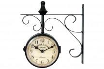 Nástenné hodiny obojstranné - H13, kov