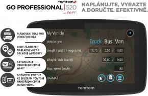 Navigačný systém GPS Tomtom 520 (1PN5.002.07) čierna