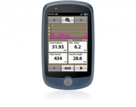NAVMAN Bike 1000, GPS cyklonavigácia, 3,5