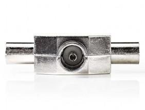 Nedis anténny rozbočovač 2 x IEC zástrčka - 1 x IEC zásuvka