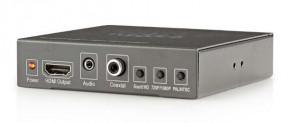 NEDIS prepínač / SCART + HDMI vstup - HDMI výstup / Full HD