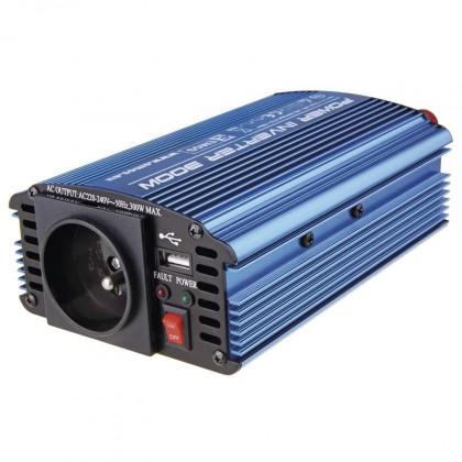 Neoriginálne nabíjačky Emos N0032, menič napätia 12V / 230V, 300W