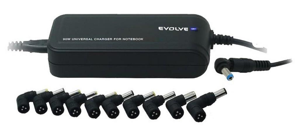 Neoriginálne nabíjačky sieťový adaptér EVOLVEO GLOBAL LITE 90W ROZBALENÉ