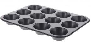 Nepriľnavá forma na 12 muffinov de Buyer 484300, 5,3 cm / 7,8 cm