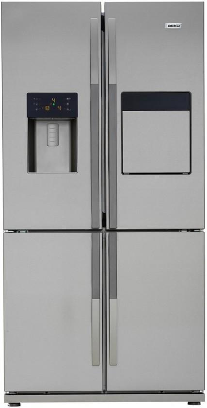 Nerezové americké chladničky Americká chladnička Beko GNE 134630 X, A++