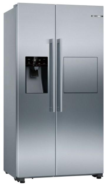 Nerezové americké chladničky Americká chladnička Bosch KAG93AIEP