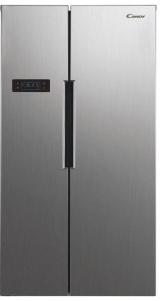 Nerezové americké chladničky Americká chladnička Candy CHSVN174X
