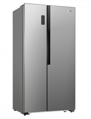 Nerezové americké chladničky Americká chladnička Gorenje NRS9181MX,A+