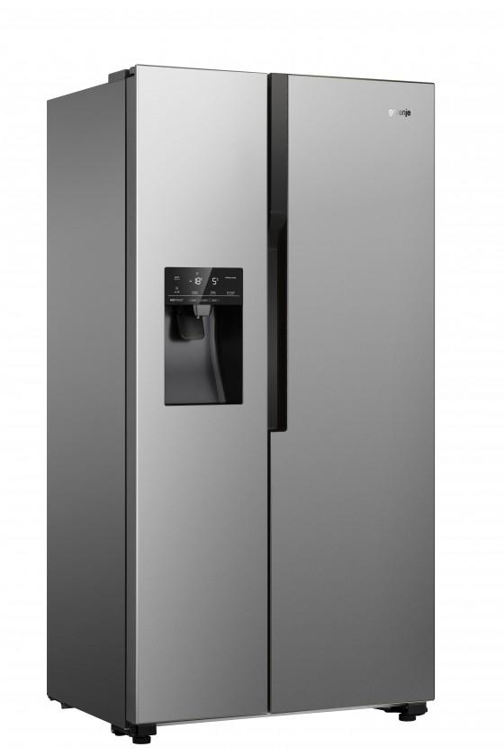 Nerezové americké chladničky Americká chladnička Gorenje NRS9182VX,A++