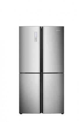 Nerezové americké chladničky Americká chladnička Hisense RQ689N4AC2
