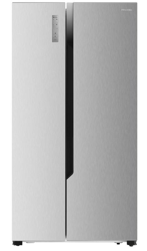 Nerezové americké chladničky Americká chladnička Hisense RS670N4BC2