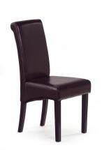 Nero - Jedálenská stolička, nosnosť 120 kg (wenge / tmavo hnedá)