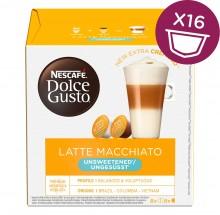 Nescafé Dolce Gusto kapsule latte macchiatto bez cukru,16ks