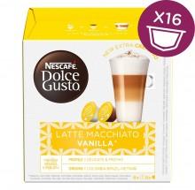 Nescafé Dolce Gusto Kávové kapsule latte macchiatto,vanilla,16ks