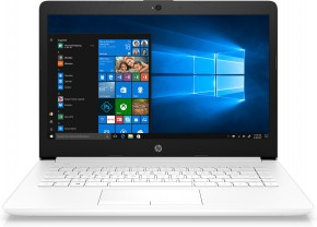 Netbook HP 14 Intel Celeron 4GB RAM, 64 GB, white