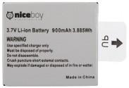 Niceboy VEGA, VEGA+ náhradná batéria