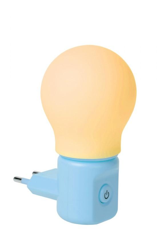 Night Light - nástenné osvetlenie, H11cm (modrá)