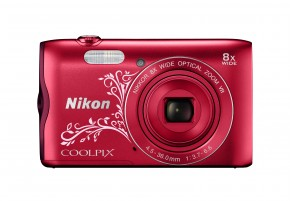 NIKON COOLPIX A300 RED LINEART